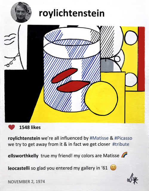 , 'Roy and Kelly,' 2019, Michele Mariaud Gallery