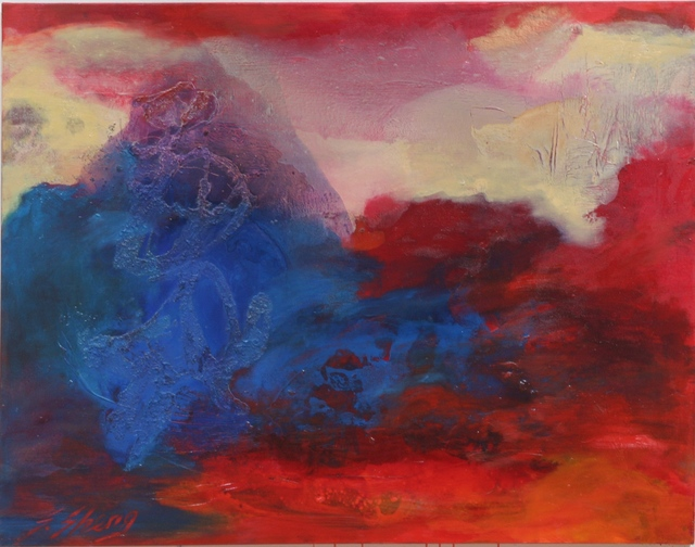 , 'Calligraphy in Landscape,' 2005, Contemporary by Angela Li
