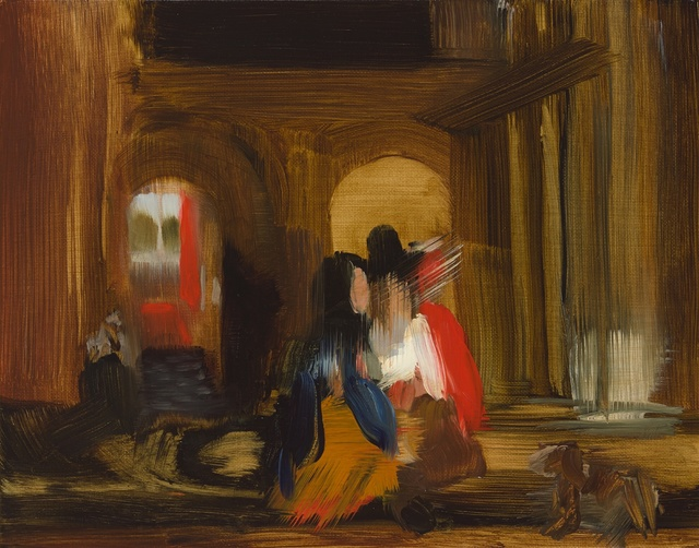 Elise Ansel, 'Walking (after Pieter de Hooch)', 2015, Cynthia Corbett Gallery