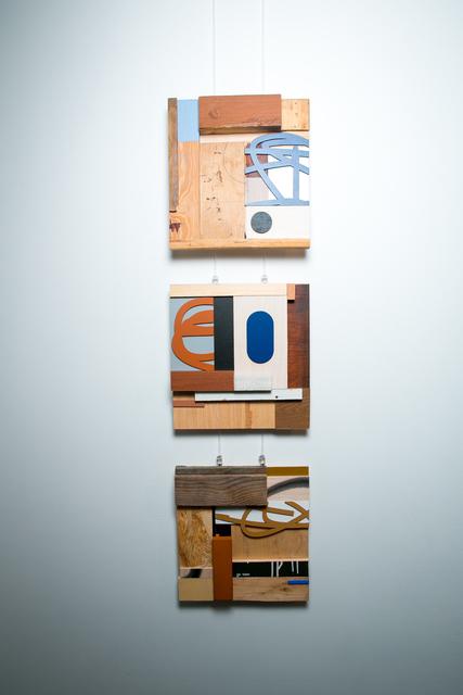 Alexey Luka, 'Fragment #48, #49, #51', 2017, Ruarts Gallery
