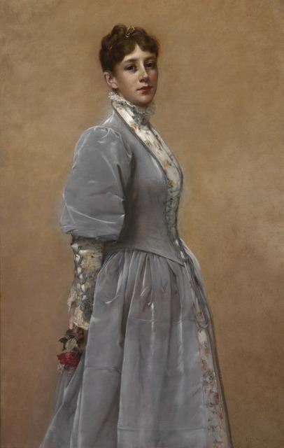 Francis Davis Millet, 'Portrait of Sadie P. Waters', 1888, Adelson Galleries