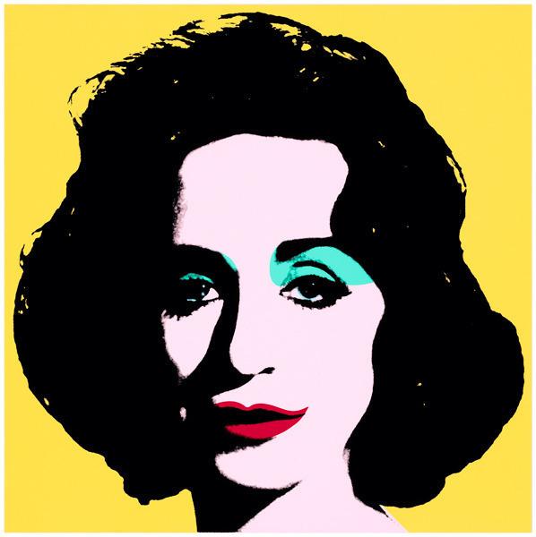 Deborah Kass, 'Yellow Deb', 2012, Print, 7-colorsilkscreen on 2-ply museum board, Goya Contemporary/Goya-Girl Press
