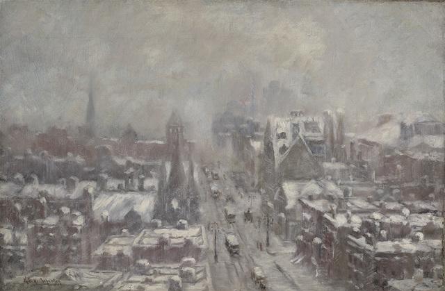, 'Winter,' 1902, Questroyal Fine Art