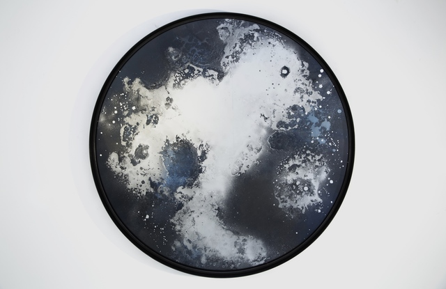 , 'Constellation Mirror,' 2015, Guilded
