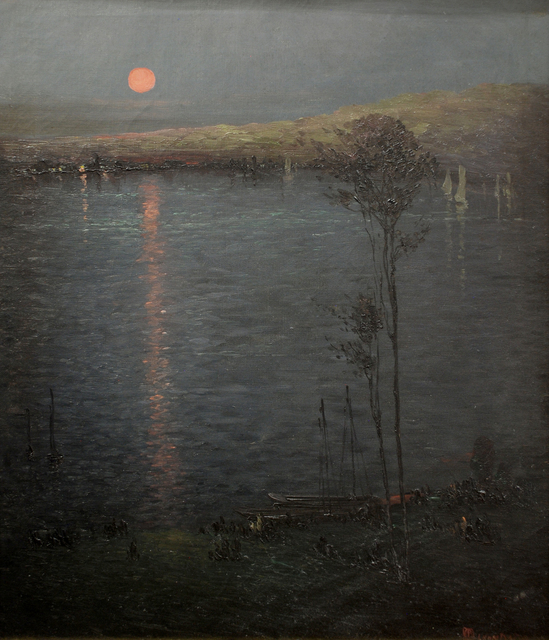 , 'The Moon on the Lake (aka Moon Rising),' 1907, Sullivan Goss