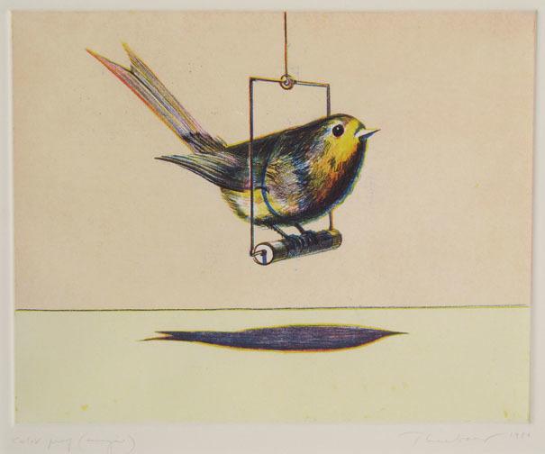 Wayne Thiebaud, 'Bird', 1979, Paul Thiebaud Gallery