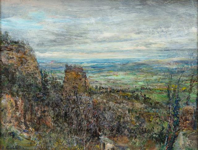 John Cobb, 'View from Volterra', 2018, Valley House Gallery & Sculpture Garden