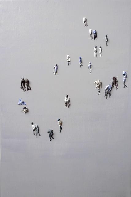 """, 'Untitled - aus der Serie """"Mob"""",' 2017, Galerie Crone"""
