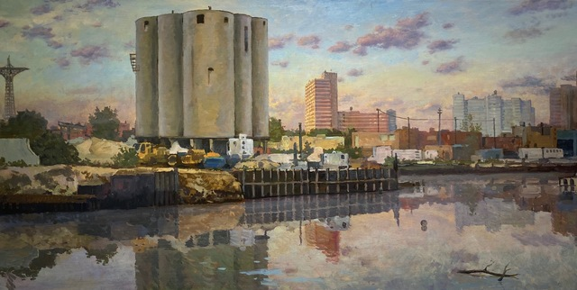 , 'Cement Factory at Dusk,' 2019, 33 Contemporary