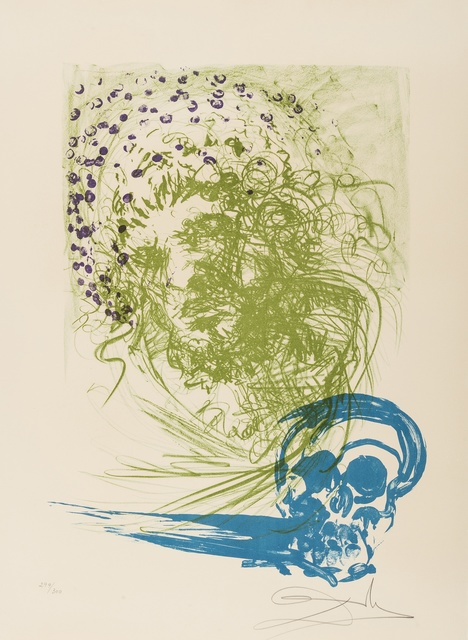Salvador Dalí, 'Old Age (from Edades de la Vida) (M&L 1434; Field 72-1-D)', 1973, Print, Lithograph printed in colours, Forum Auctions