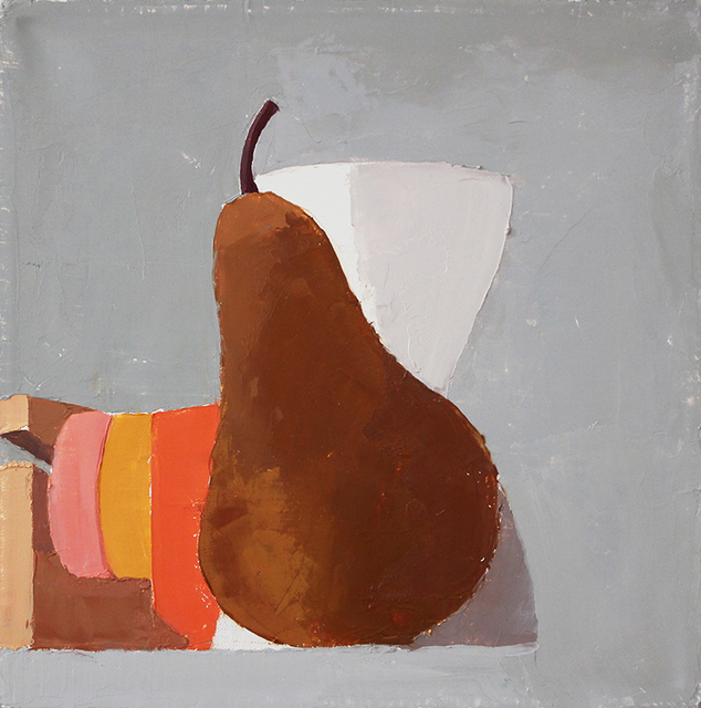 , 'Still Life with Pear and Vase,' 2015, Kathryn Markel Fine Arts