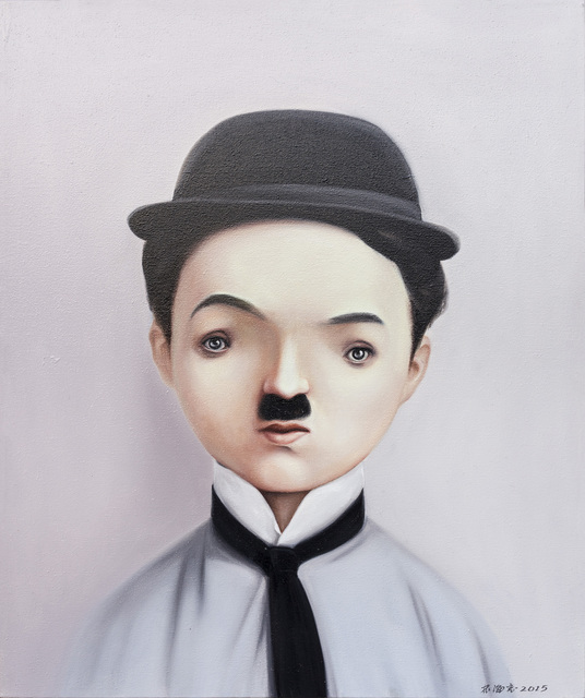 , 'Portrait - Chaplin,' 2016, Longmen Art Projects