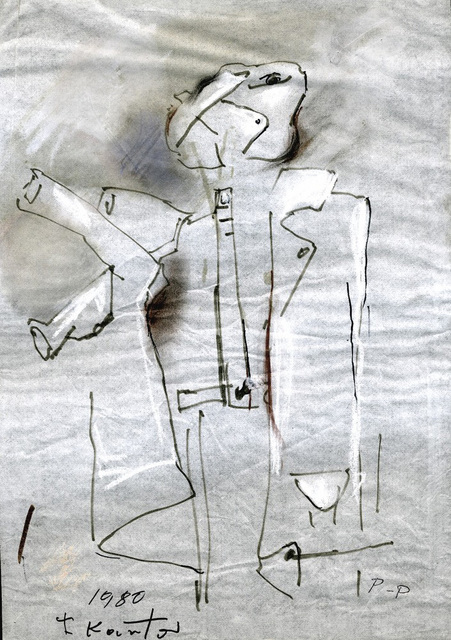 , 'Man - coat ,' 1980, Galerie Isabella Czarnowska