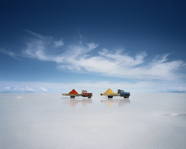 Scarlett Hooft  Graafland, 'Two Trucks', 2010, Photography, Inkjet print mounted on Dibond, Galerie XII