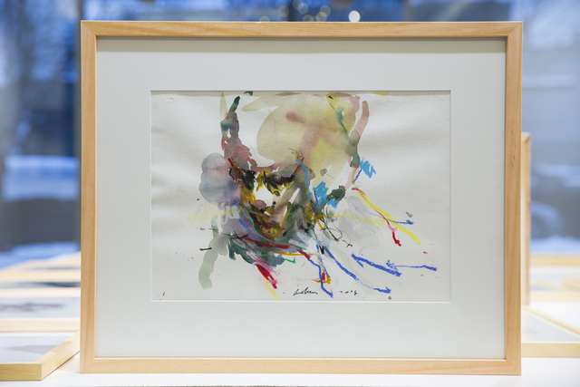 , 'DIY Drawing (Head),' 2016, The Rooster Gallery