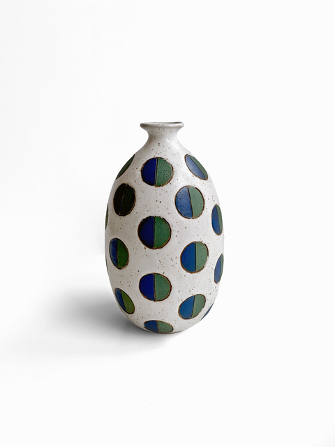 Matthew Ward, 'White Split Polka Dot Vase', 2019, Uprise Art