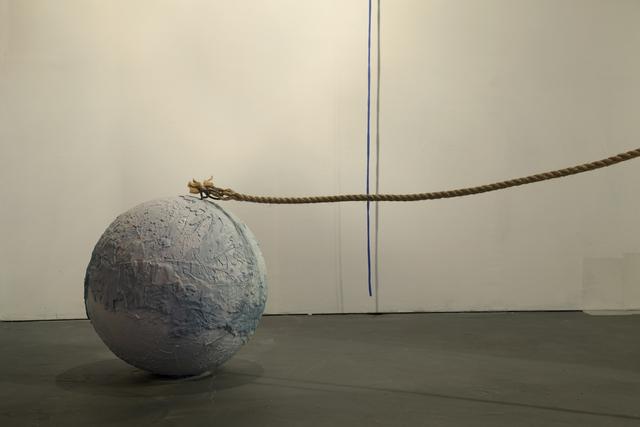 , 'Masa incoherente (perteneciente a la muestra No hace falta gritar),' 2015, Big Sur Galería