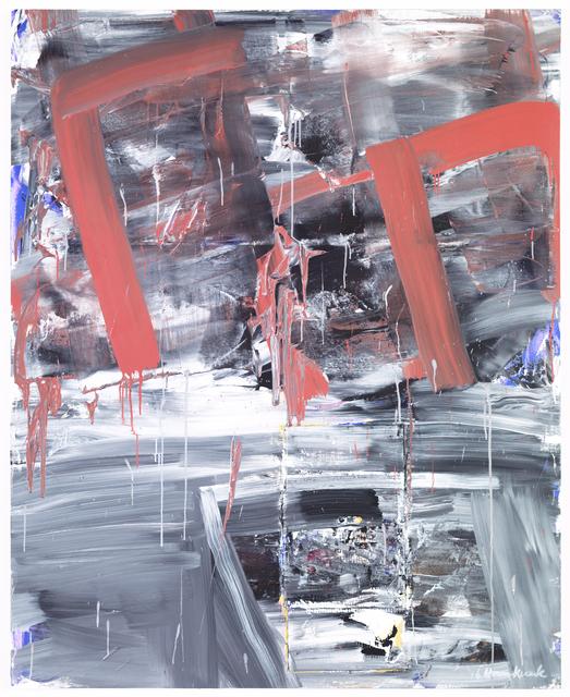 , 'Palimpsest,' 2016, Phosphorus & Carbon