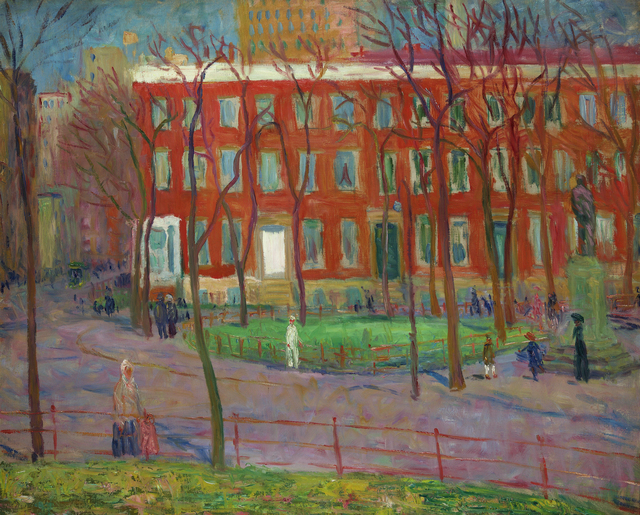 , 'Washington Square,' ca. 1912, Debra Force Fine Art