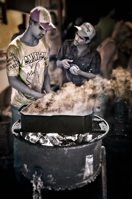 E.K. Waller, 'Street Cooking', 2013, The Perfect Exposure Gallery