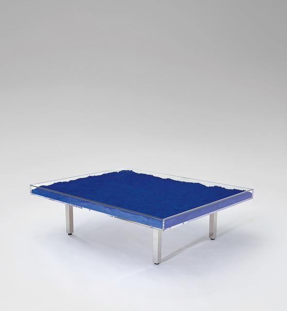 Yves Klein, 'Table Bleu KleinTM / Klein Blue® Table', designed 1961, Phillips