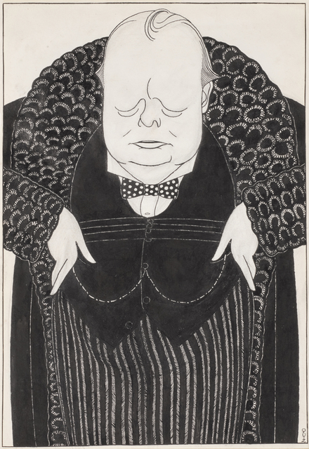 , 'Portrait of Winston Churchill,' 1924, Christopher Kingzett Fine Art