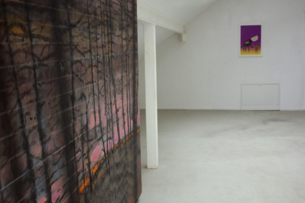 "Fragment of exhibition ""Družba""."