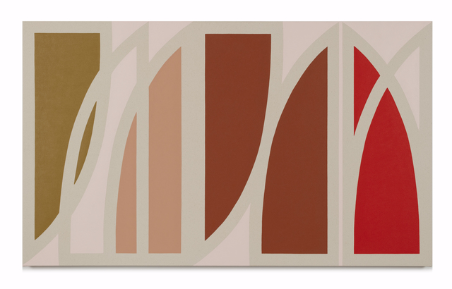 Kimmy Quillin, 'Flattened Curves', 2020, Painting, Acrylic on canvas, Uprise Art
