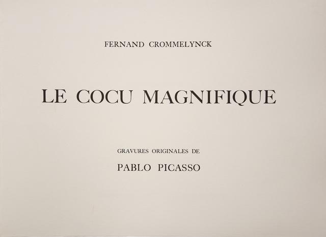 Pablo Picasso, 'Le Cocu Magnifique', 1968, Wallector