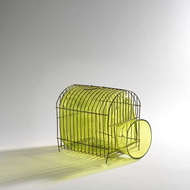 , 'Lime little cage ,' 2013, Marion Friedmann