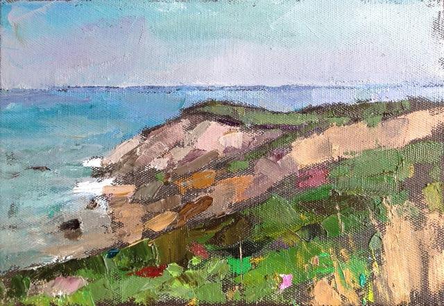 , 'Cliffs of Aquinnah,' 2010-2017, Eisenhauer Gallery