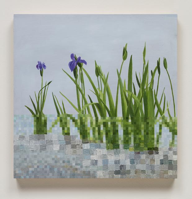 , 'Irises Kinkaku-ji,' , Craig Krull Gallery
