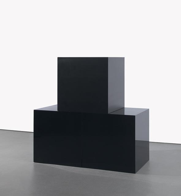 Sol LeWitt, 'Black Cubes', 2000, Phillips
