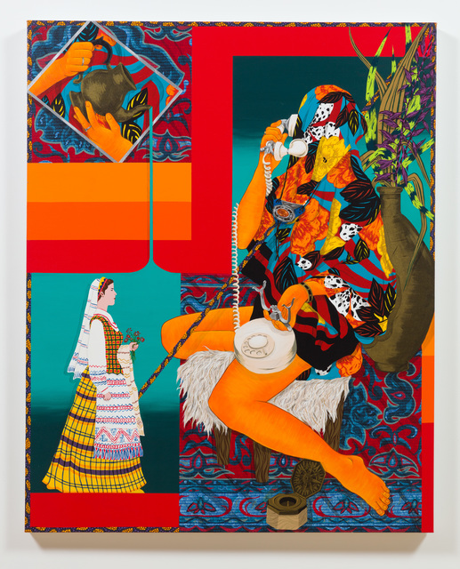 , 'Calling On The Past,' 2018, Shulamit Nazarian