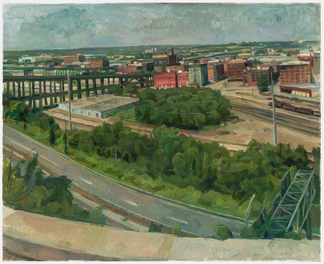 , 'Kansas City, View of 12th St. Viaduct,' 2014, New York Studio School