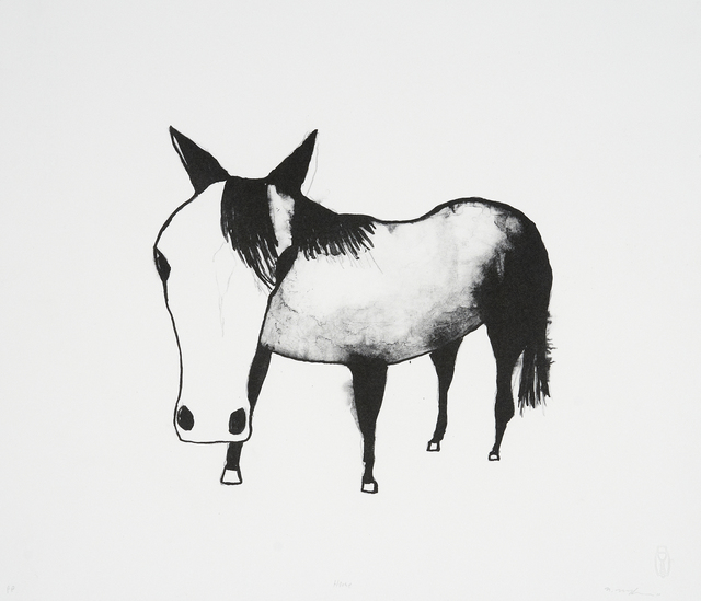 , 'Horse,' 2011, Cicada Press