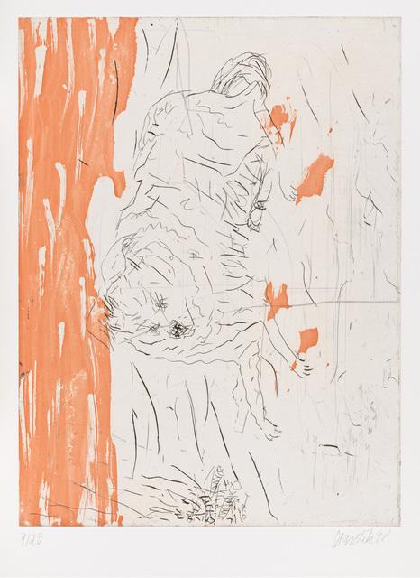 """, 'Samson, from """"Schlafende Hunde"""",' 1998-1999, Gagosian"""