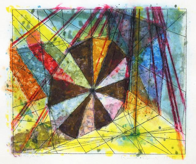 , 'Pinwheel, Diamond, and Stripe,' 1975, Jonathan Novak Contemporary Art