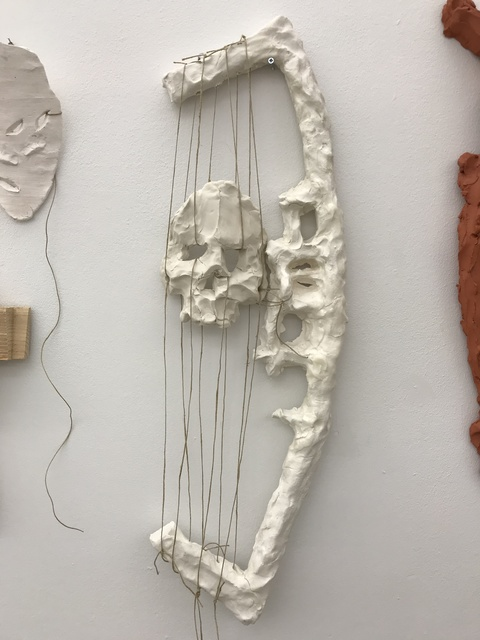 , 'Bone Harp,' 2018, Galerie Fons Welters