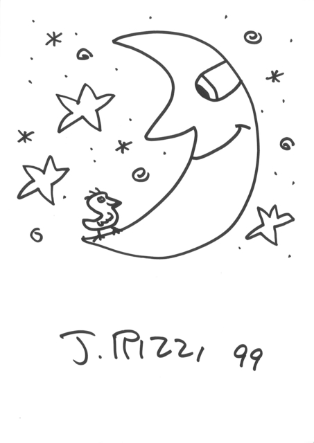 James Rizzi, 'Moon (after James Rizzi)', 1999, Art276