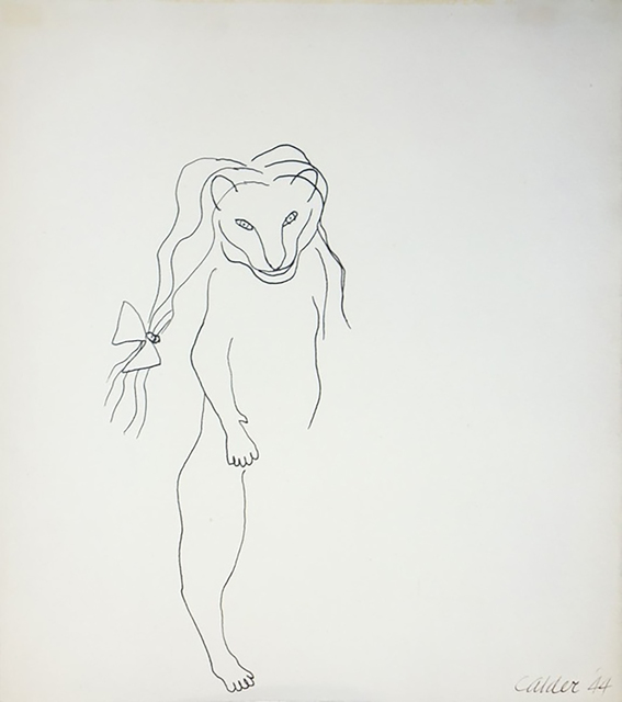 , 'Little Lioness with Hair Ribbon,' 1944, Hollis Taggart Galleries