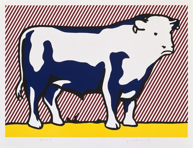 Roy Lichtenstein, 'Bull VII', 1974, Gemini G.E.L. at Joni Moisant Weyl