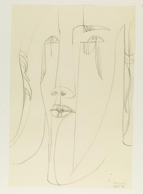 , 'Head,' 1959, Pangolin