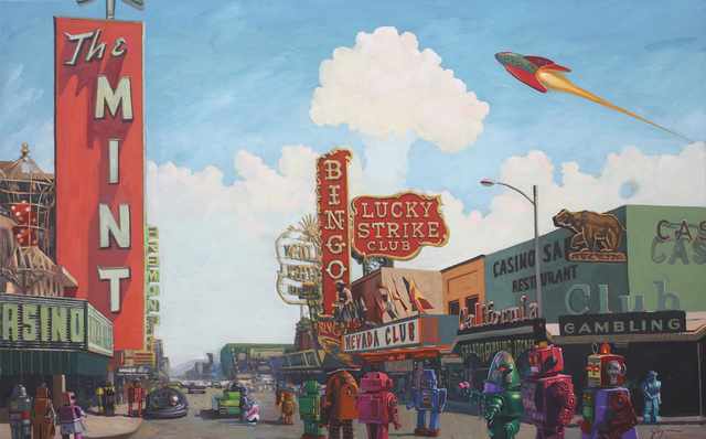 , 'Lucky Strike,' , Corey Helford Gallery