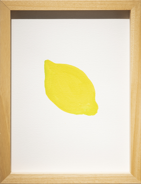 , 'Untitled Fruits (Lemon),' 2018, Galerist