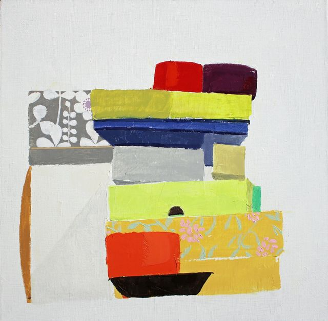 Sydney Licht, 'Still Life with Piles #5', 2016, Thomas Deans Fine Art