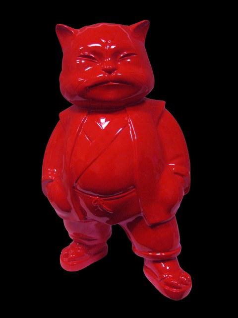 Hiro Ando, 'URBAN RED 100 cm', Gallery 32