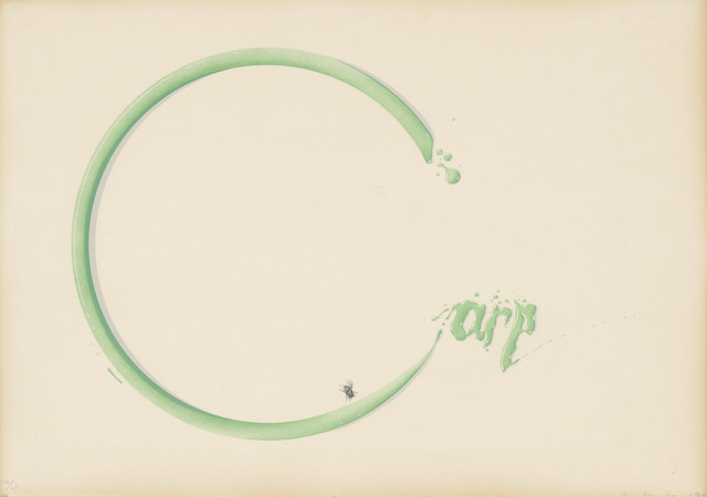 Ed Ruscha, 'Carp with Fly', 1969, Print, Lithograph in colours on Arches wove paper, Christie's