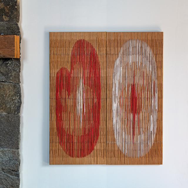 Lija Rage, 'Beginning', 2019, Sculpture, Bamboo, copper wire, fabric, browngrotta arts
