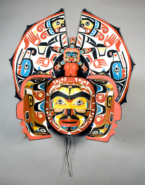 , 'Transformation Mask,' ca. 1984, Montclair Art Museum